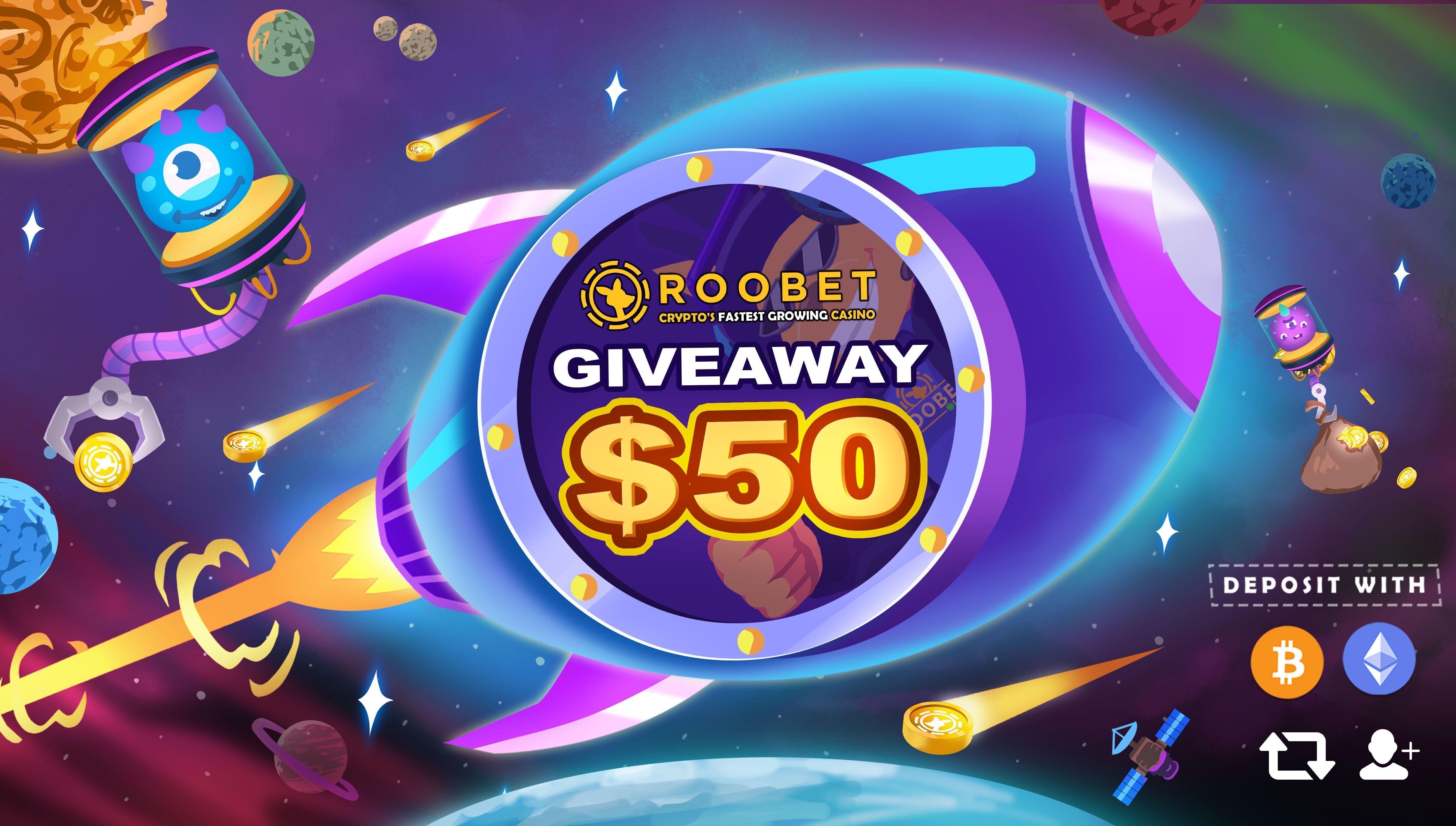 Roobet giveaway