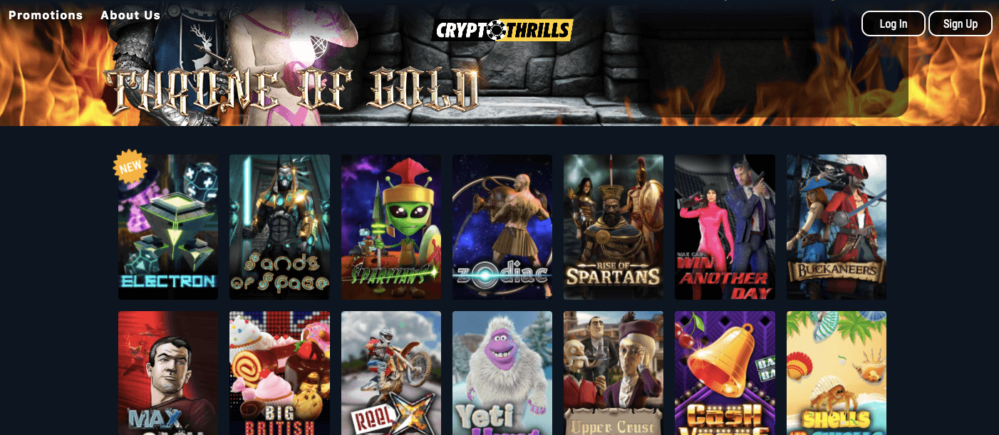 Crypto Thrills review