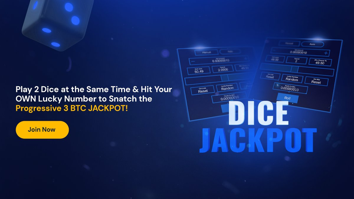FortuneJack Dice Jackpot