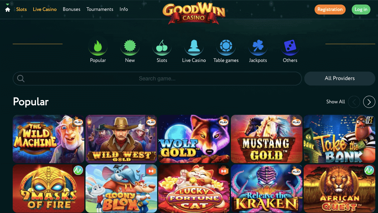 goodwin casino bitcoinfy
