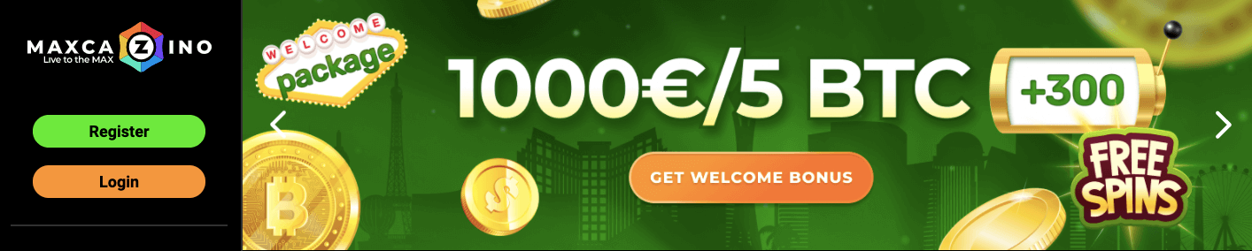 maxcazino welcome offer
