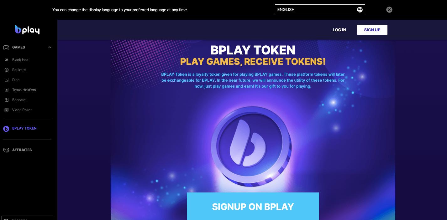 bplay website screenshot